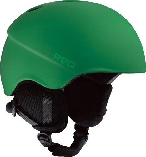 Red Ski- und Snowboardhelm HI-FI, green ,253889, S