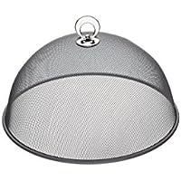 KitchenCraft Runde Abdeckhaube aus Metallgeflecht, 25cm