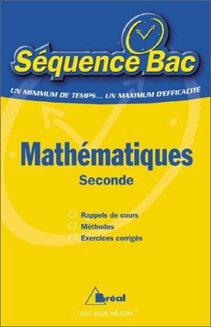 Mathématiques : seconde