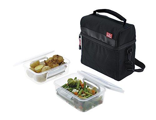 Jata Hogar Take Away Bolsa térmica Porta Alimentos, Negro, 0 cm