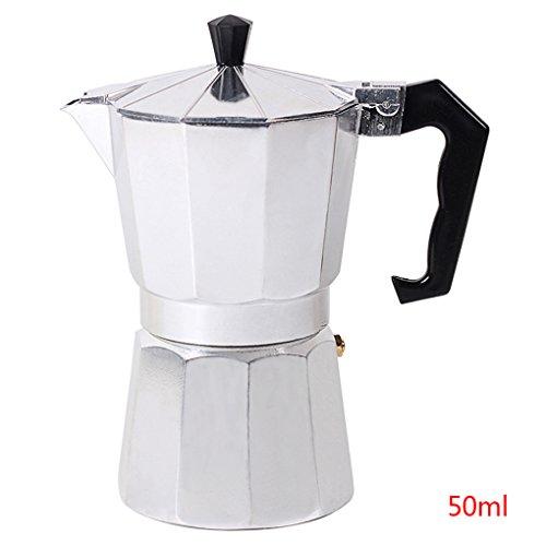 Lorjoy 1 Tasse / 3Cup / 6Cup / 9Cup / 12Cup Aluminium Espresso Kaffeemaschine elektrische...