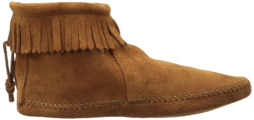 Minnetonka Moccasin Fransenstiefel Chaussure basse Softsole Brown