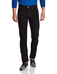Levis Mens Skinny Fit Jeans (6902418289425_36085-0005_32W x 34L_Black)
