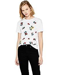 FIND Shirt avec Broderies Femme