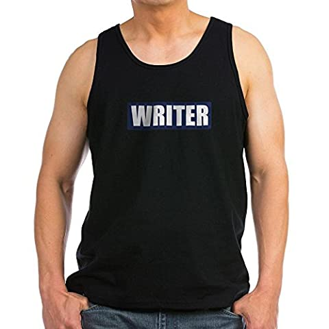 CafePress - Writer Bullet-Proof Patch Tank Top - Men's Cotton