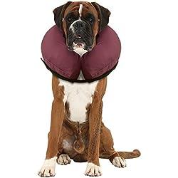 iCollr - Das aufblasbare Halsband für Katzen und Hunde für die postoperative Genesung - Large