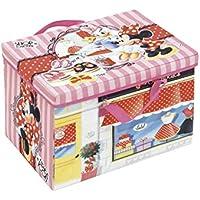 Arditex Box de Almacenamiento 2en 1con Alfombra de Juego bajo Licencia Minnie Mouse Dimensions: 41x 31x 28cm, PP + cartón, 41x 28x 31cm