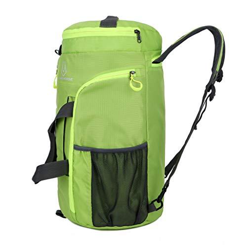 Jugendhj Unisex Faltbare Tasche Outdoor Sport Travel Schulter Sling Rucksack Fitness Tasche -