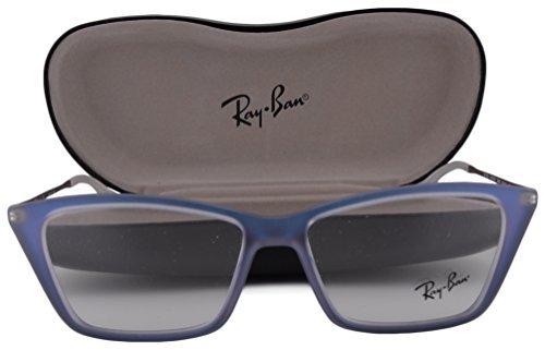 Ray-Ban RX7022 Shirley Eyeglasses 52-14-140 Iridescent Azure 5496 RB7022 image