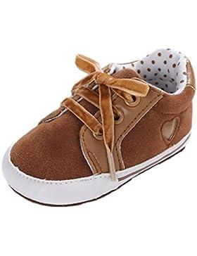 Auxma Babyschuhe, Baby Schuhe Sneakers, Säugling Leinwand Weiche Sohle Anti-Rutsch-Schuhe Kleinkind Schuhe für...