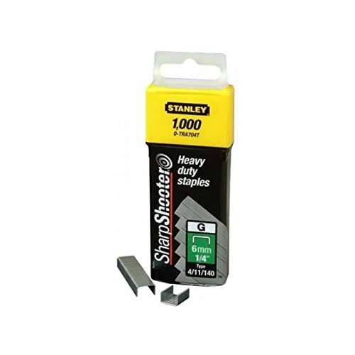 STANLEY-STANLEY - Agrafes 10mm type g - 1000pcs