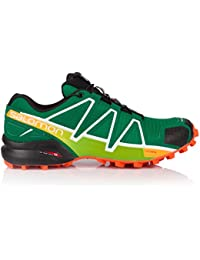 Salomon L40076100 Speedcross 4 Synthetic Trail Running Shoes, Adult (Green)