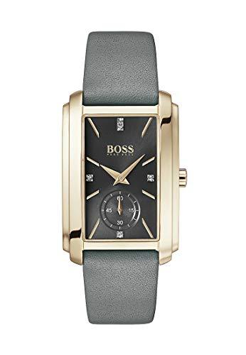 Boss Damen-Uhren Analog Quarz One Size Leder 87605949