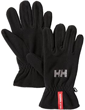 Helly Hansen HH Fleece Scarf Gloves - Guantes unisex, color negro, talla M