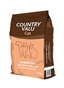Country Value Complete Dry Cat Food 125 Kg Pack Of 3 by Burgess Pet Care
