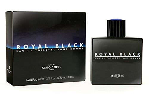 ARNO SOREL Eau de Toilette Royal Black Homme 100ml