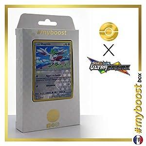 Shaymin 111/156 Holo Reverse - #myboost X Soleil & Lune 5 Ultra-Prisme - Box de 10 Cartas Pokémon Francés