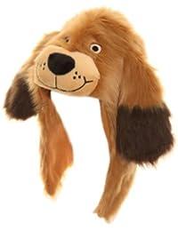 Chapka à tête et oreilles de chien - Enfant unisexe