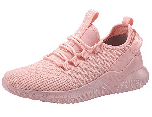 SINOES Damen Sportschuhe Laufschuhe Sneaker Atmungsaktiv Leichte Wanderschuhe Trainers Schuhe
