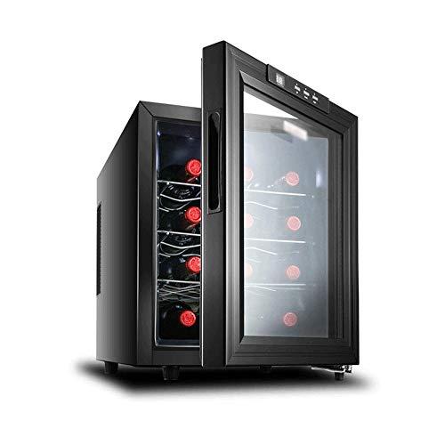 12 Bottle Thermoweinkühler/Chiller |Gegenober rot und weißen Weinkeller |Freistehend Kühlschrank, Leiser Betrieb Kühlschrank |Rostfreier Stahl