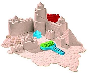 Goliath 83219 - Super-sand-set Castle, Modellierbarer Magischer Sand Bringt Burgen Ins Kinderzimmer, Handliche Sandkasten-box, Bunte Burg-förmchen, Ab 4 Jahren 12
