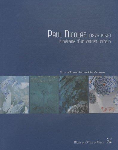 Paul Nicolas par Nicloas;Chambrion, Alice