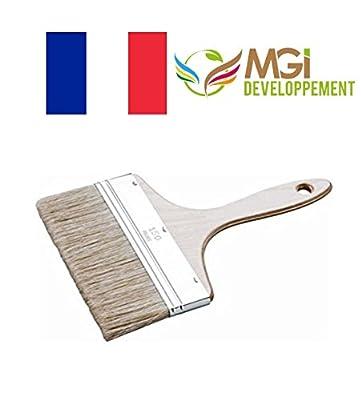 - Pinsel, flach,/Breite: 15cm (Splater) Profiqualität handgefertigt Made in Frankreich von madeinfrance - TapetenShop