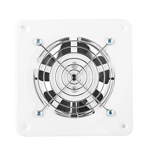 OKBY Abluftventilator - 25w 220v an der Wand befestigter Abluftventilator, lärmarmes Hauptbadezimmer-Küchen-Garagen-Luft-Entlüftungs-Ventilation -