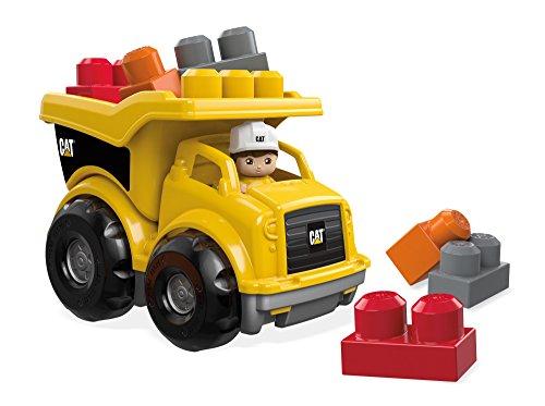Mattel Mega Bloks First Builders CND88 CAT Kipplaster