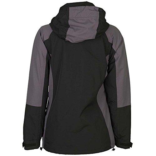 Planam Shape Damen Jacke blau/grau schwarz/grau