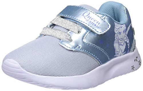 Frozen Girls Kids Athletic Sport, Zapatillas de Cross para Niñas, Azu