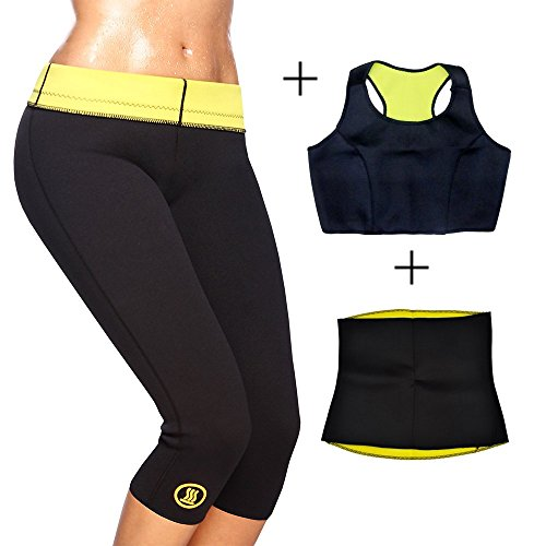 Generic Hot Slimming Shaper Pant + Top + Belt Combo (3XL)