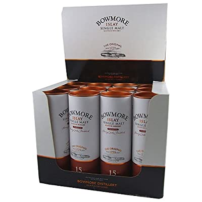 Bowmore Darkest 15 year old Single Malt Whisky 5cl Miniature - 12 Pack from Bowmore