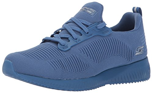 Skechers Bobs Squad Photo Frame Zapatillas Para Mujer Fitness Memory Foam Blau
