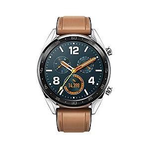 Huawei Watch GT Fashion - Reloj (TruSleep, GPS, monitoreo del ritmo cardiaco) color marrón