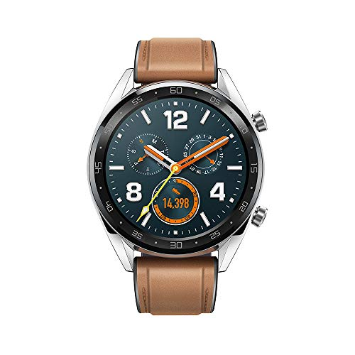 Huawei Watch GT Fashion - Reloj (TruSleep, GPS, monitoreo del ritmo cardiaco) color marrón