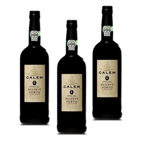 Portwein Calem Special Reserve - Dessertwein- 3 Flaschen