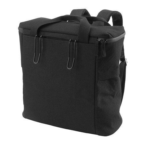 IKEA SLADDA Fahrradtasche in schwarz; für hinten