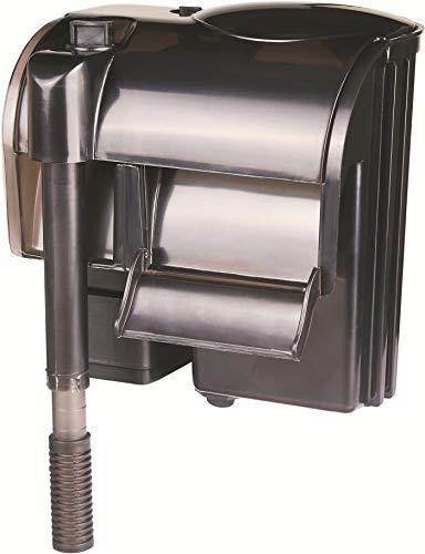 Nicepets® mini filtro per acquario e acquario a zaino esterno con sistema a cascata per filtrare l'acqua in acquari e acquari con pesci o tartarughe. potenza 500 litri ora e 5 w.