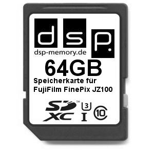 Dsp memory z di 405155743101064gb ultra high speed scheda di memoria per fujifilm finepix jz100digital fotocamera