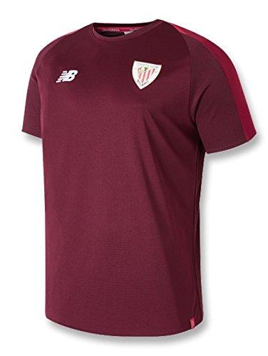 New Balance - Athletic Bilbao Camiseta ENTRENO 18/19 Hombre Color: Granate Talla: S