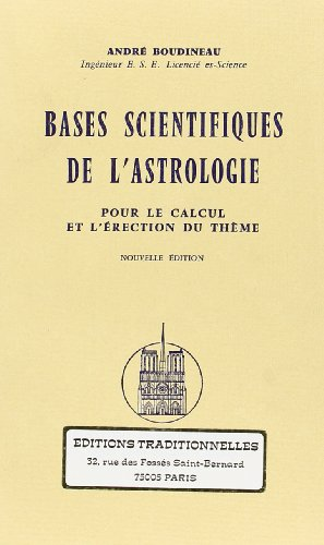 Bases Scientifiques de l'Astrologie