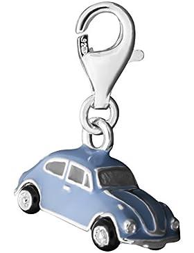 Thomas Sabo VW Käfer 1302 Charm Anhänger Silber blau/schwarz emailliert 1037-007-1