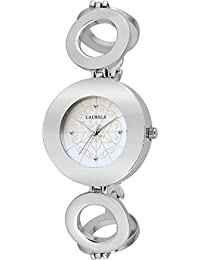 Laurels Aura 1 Analog Silver Dial Women's Watch ( LL-Aura-102)