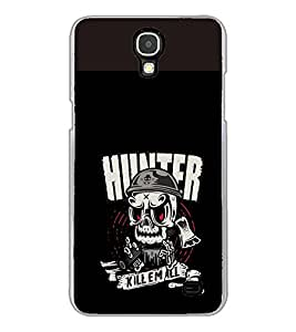 PrintVisa Designer Back Case Cover for Samsung Galaxy Mega 2 SM-G750H (Trunkfit Wallpaper GhostKill Them All Quote Case)