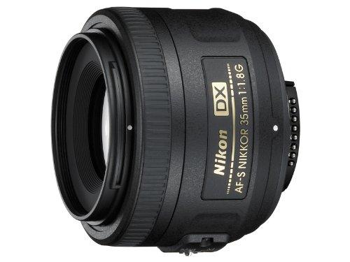 Nikon Objektiv Nikkor AF-S DX (35mm, 1:1,8G) Schwarz
