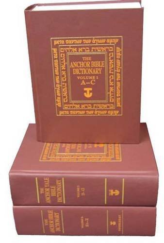 The Anchor Bible Dictionary 6-Volume Prepack: (contains one copy of each volume) (The Anchor Yale Bible Dictionary) (1992-06-01)