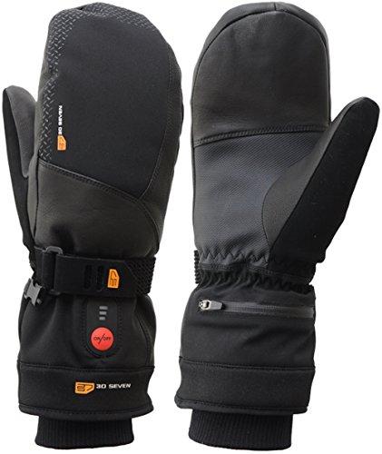 Beheizbare Ski Handschuhe Fäustlinge (8 (S))