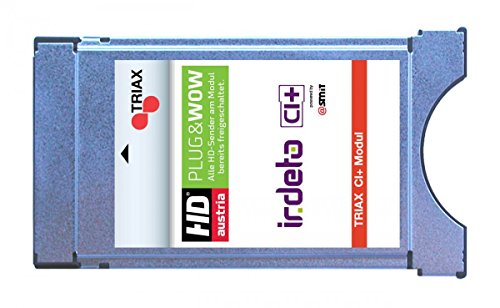Triax CI+ Irdeto CAM Modul für die ORF Karte und HD Austria Programme HDTV CI plus