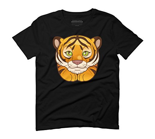 tiger Men's Graphic T-Shirt - Design By Humans Black